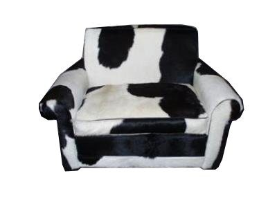 Luxe fauteuil koeienvel