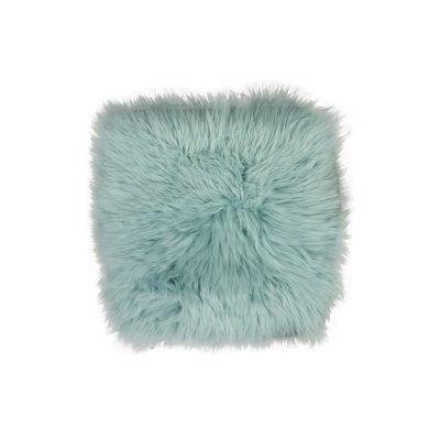 Licht blauw schapenvachtje
